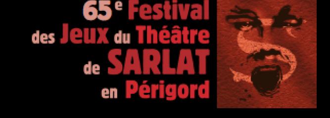 Extrait de l'affiche du festival des jeux du théâtre de Sarlat