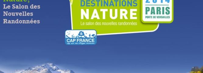 Visuel du salon Destinations Nature 2014