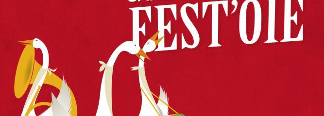 Affiche de l'événement Sarlat en Périgord Fest'oie 2017