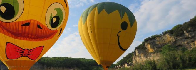 Vol ballon Duck