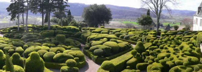 Les Jardins de Marqueyssac à Vézac, en Dordogne