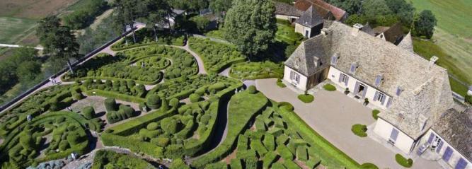 Le Jardin de Marqueyssac en Dordogne