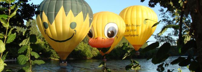 Photio de nos montgolfières du Périgord