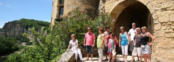 Photo d'une visite au village de La Roque Gageac