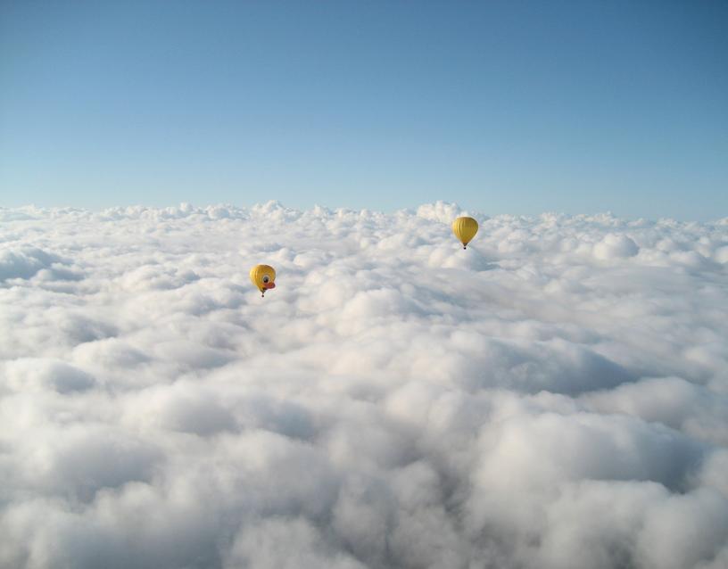 La tête dans les nuages du Périgord