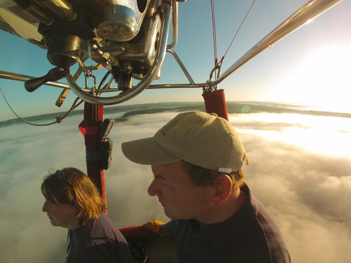 Pilotage de la montgolfière