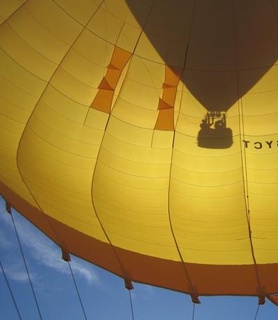 360° en montgolfière