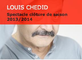 Image de l'affiche du concert de Louis Chedid à Sarlat
