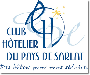 Illustration représentant le logo du club hôtelier du pays de Sarlat
