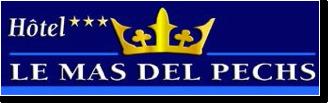 Illustration représentant le logo de l'hôtel Mas del Pechs
