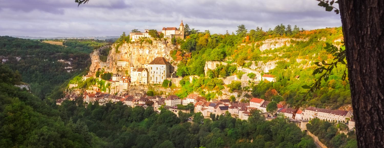 Rocamadour, village en Dordogne