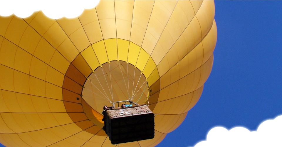 Vol privé à bord d'une montgolière