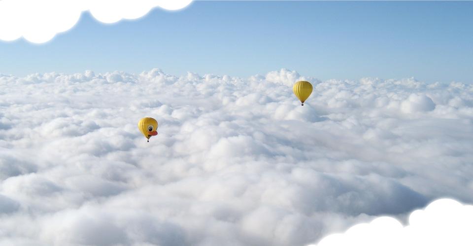 Vol en classe Prestige à bord d'une montgolfière